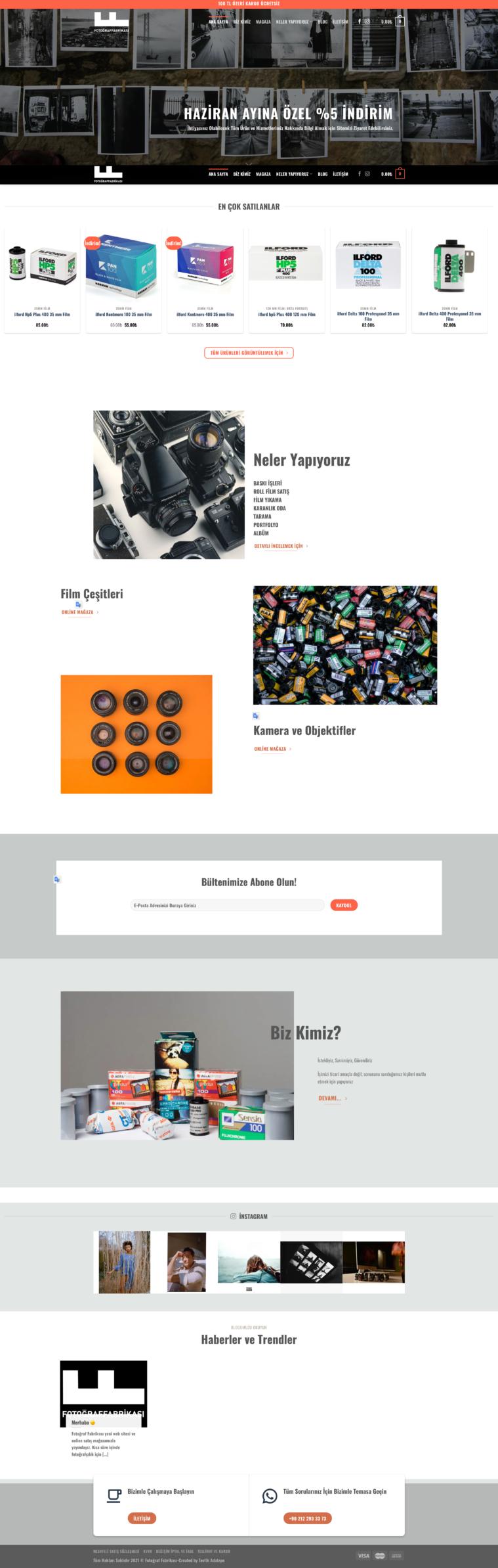 fotoğraf fabrikası, web design, web tasarım, e-ticaret